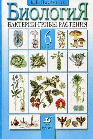 Биология 6 класс учебник бактерии